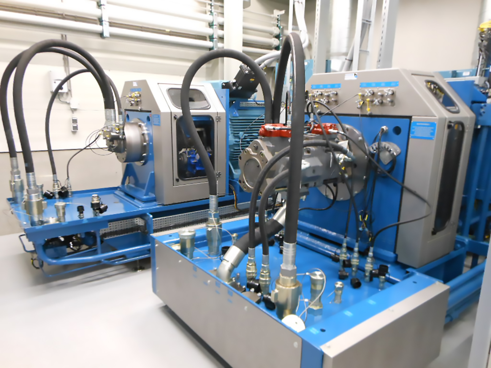 Remanufacturing Test Bench Hydraulic System Software